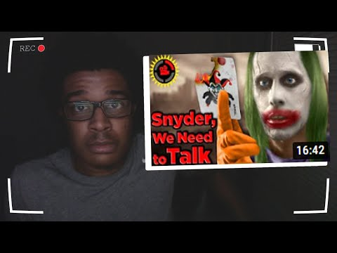 Film Theory: Dear DC, I Fixed Your Universe! (Justice League Snyder Cut) REACTION!