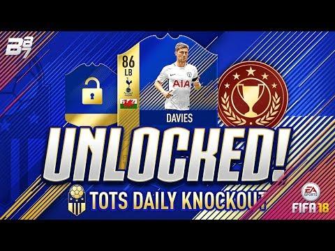 FREE PL TEAM OF THE SEASON BEN DAVIES UNLOCKED! | FIFA 18 ULTIMATE TEAM