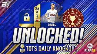 FREE PL TEAM OF THE SEASON BEN DAVIES UNLOCKED! | FIFA 18 ULTIMATE TEAM
