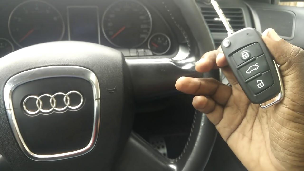 Reprogramming Audi A4 B7 Key Youtube