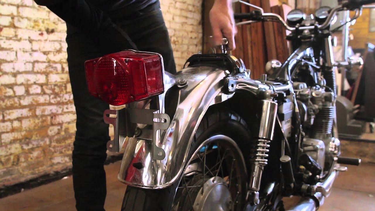 Motorcycle Restoration Part 1 The Teardown