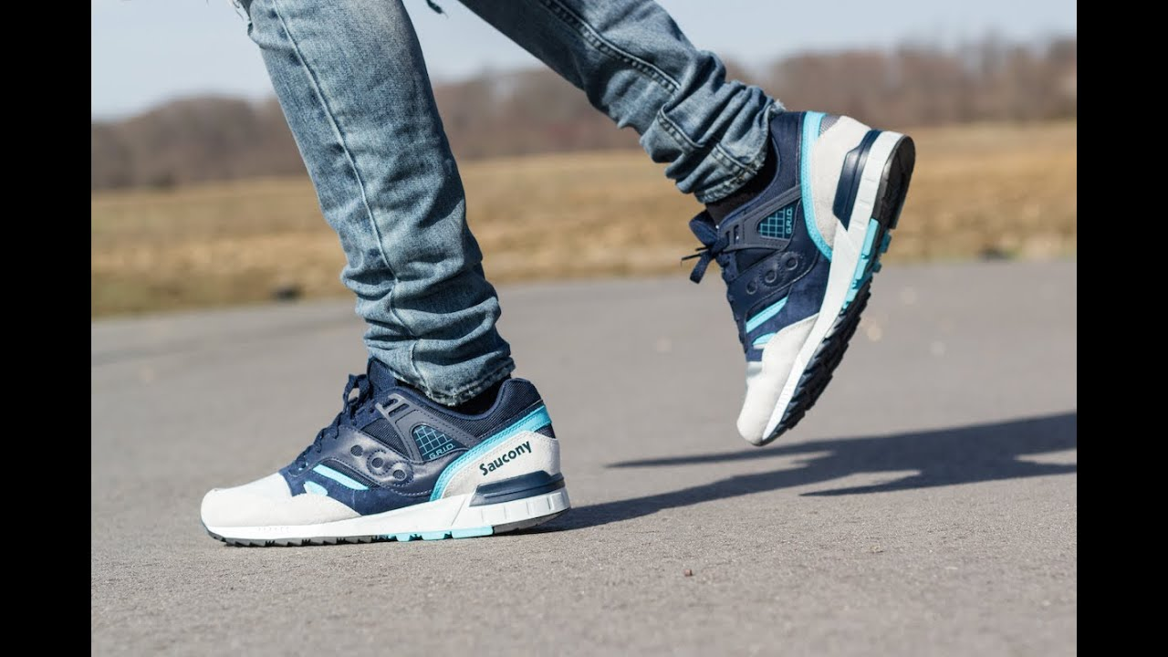 Saucony Shoes On Feet