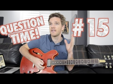 Question Time! Solos, Extended Range Guitars, Buckethead and Frusciante