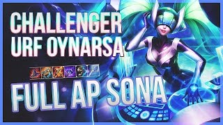 Challenger URF Oynarsa - FULL AP Sona