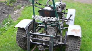 Honda Gx160, Diy Garden Tractor.