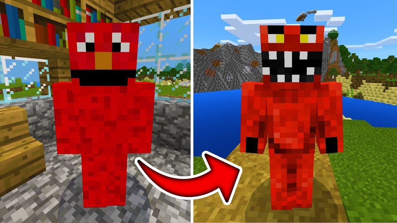 Jeff The Killerexe Roblox - Good Elmo Is Actually Evil Elmo In Minecraft We Figured It All Out