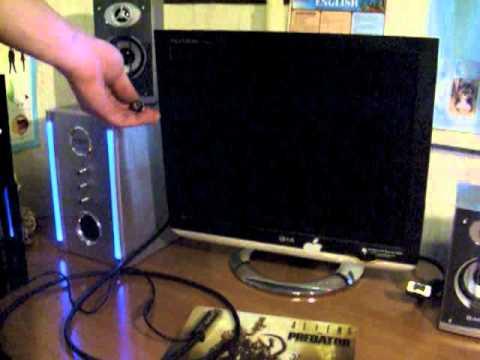 DVI-D to VGA китайский хлам - YouTube