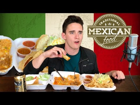 Authentic Mexican Cuisine (Mukbang / Eating Show)
