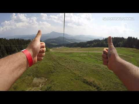Najdlhšia Lanová Dráha Na Slovensku - ZIPLINE Kubínska Hoľa