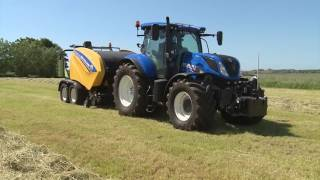 New Holland Graslanddemo in De Haan