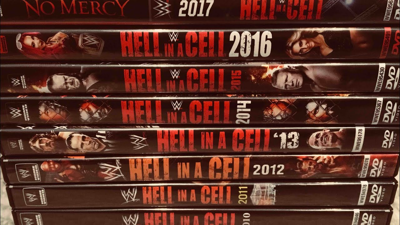 Wwe Hell In A Cell Ppv Dvd Collection Review Youtube