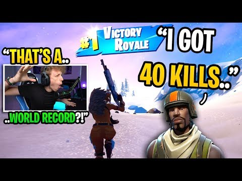 This PRO PLAYER Got 40 KILLS In His HIGHEST Kill Game In Fortnite... (he's GOATED!)