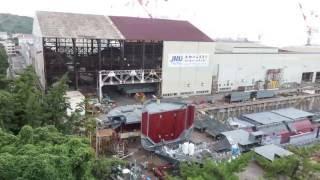 戦艦「大和」建造ドック 旧 呉海軍工廠(ジャパン マリンユナイテッド 呉事業所)