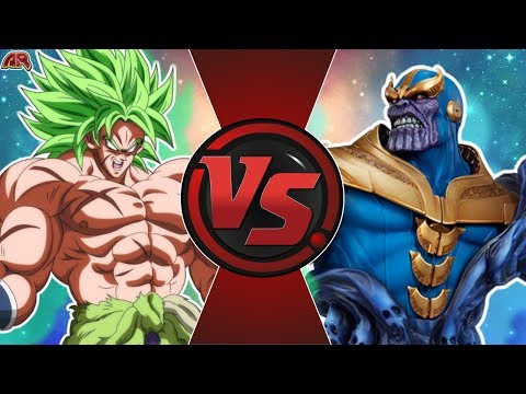 BROLY vs THANOS! (Avengers vs Dragon Ball Super Animation) | Cartoon Fight  Animation