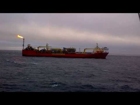 Helicopter lands on FPSO Gryphon Alpha