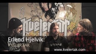 KVELERTAK Discuss How Norwegian Culture Influenced Their NEW Album 'Meir'!