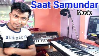 Saat Samundar Paar - Mein Tere Piche Piche Aa Gayi | Cover. Instrumental Music