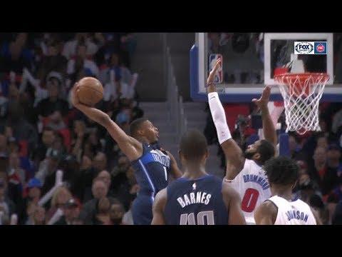 Dallas Mavericks vs Detroit Pistons Full Game Highlights / April 6 / 2017-18 NBA Season