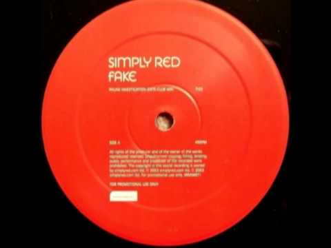Simply Red - Fake (Phunk Investigation Exte-Club Mix)