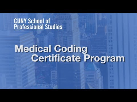 Online Certificate in Medical Coding at CUNY SPS