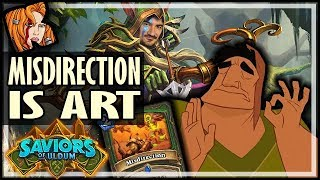 MISDIRECTION IS AN ARTFORM! - Saviors of Uldum Hearthstone