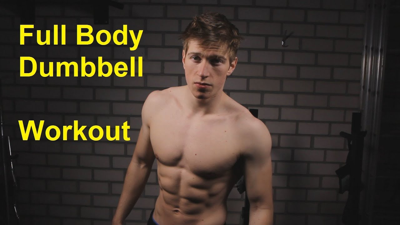 Dumbbell Full Body Workout: INSANE SuperSet Routine! - YouTube