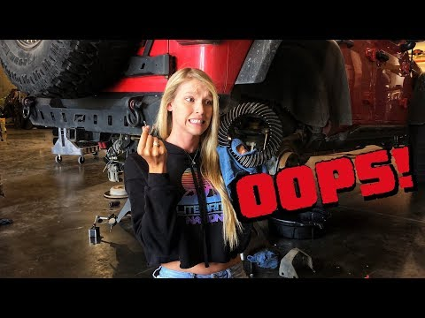 We Finally BROKE OUR JEEP?! Bye Bye Gears and Axle!