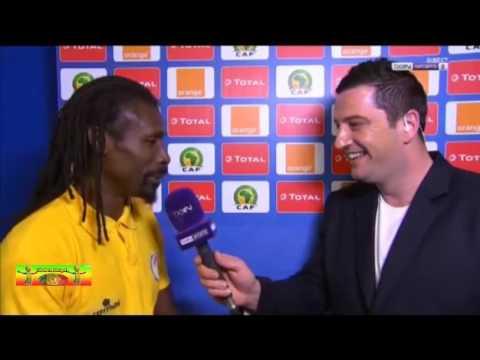Aliou Cisse Interview après le match contre Zimbabwe