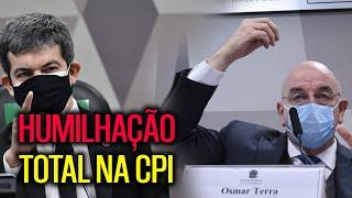 RANDOLFE DESMASCAROU O NEGACIONISTA OSMAR TERRA NA CPI!!