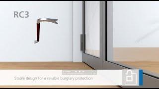 fire-resistant door RC2 / RC3 burglary-resistant