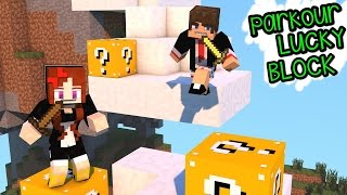 PARKOUR LUCKY BLOCK PVP | Minecraft