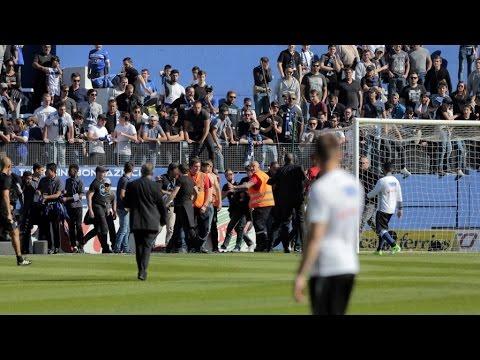 Bastia-Lyon : la presse sportive catastrophée par les échauffourées du match