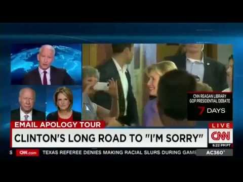 Clinton's Apology Was Not Timely Or From The Heart