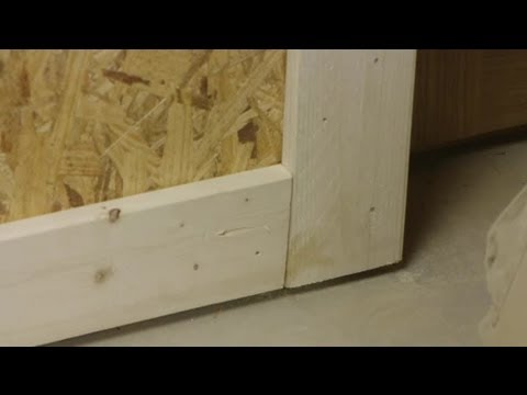 How To Replace The Baseboard Trim U0026 Leave The Door Trim : Trim Installation  U0026 Maintenance
