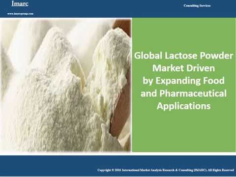 Global Lactose Powder Market Reached Volumes Worth Around 0.8 Million Tons in 2015