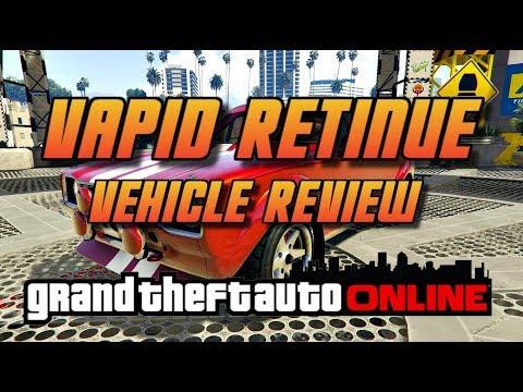 GTA Online[GTA5] Vapid Retinue  - New Vehicle Review