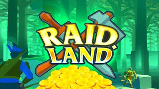 RAID LAND - EPIC BATTLE (TOP 1) - SOLO WIN - EPIC FREE GAME IN BROWSER (NO DOWNLOAD)