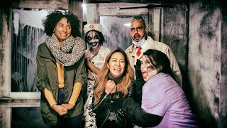 We Went to a Haunted House and Couldn't Stop Screaming