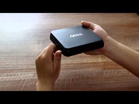 Mở hộp Android TV Box M8s chip lõi tứ S812 mức giá chỉ hơn 2 triệu đồng