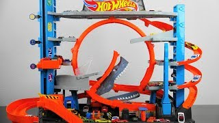 Hot Wheels Ultimate Garage With Shark Attack Ramp