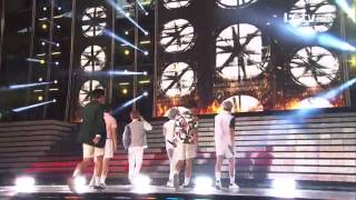 Video 150523 BTS (방탄소년단) - I NEED U (아이 니드 유) + Fun Boys (흥탄소년단) @ Dream Concert 2015 download MP3, 3GP, MP4, WEBM, AVI, FLV Agustus 2018