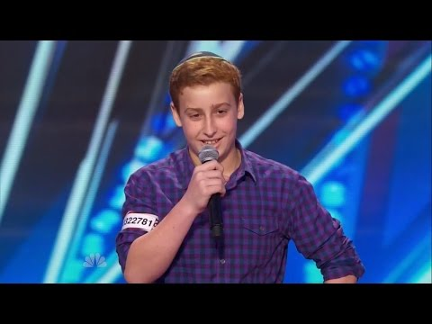 America's Got Talent S09E04 Josh Orlian the 12 Year Old Dirty Stand-up Comedian