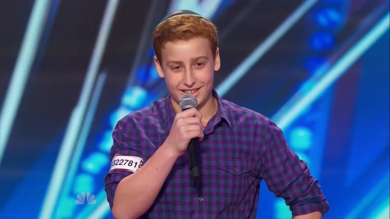 America S Got Talent S09e04 Josh Orlian The 12 Year Old Dirty Stand Up Comedian Youtube