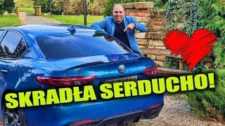 5 sekund do setki - Alfa Romeo Giulia VELOCE
