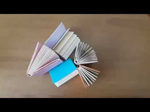 Minyatür Defter Yapimi Modular Mini Book Youtube
