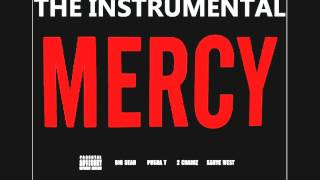 Kanye West - Mercy instrumental feat. Big Sean, Pusha T & 2 Chainz (official) explicit