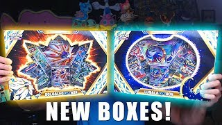 OPENING ALL NEW POKEMON CARDS BOXES! (Solgaleo GX and Lunala GX)