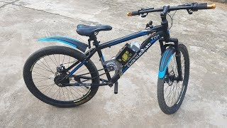 How to make Electric Bike at Home - DIY Power assisted bike