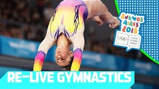 Re Live | Day 07: Artistic Gymnastics | Youth Olympic Games 2018 |buenos Aires