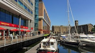 London Walk incl. Tower Bridge, St Katharine Docks, Tower of London from London Bridge Station